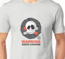 Warning Death Cookies Unisex T-Shirt