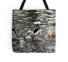 Duck Tails Tote Bag