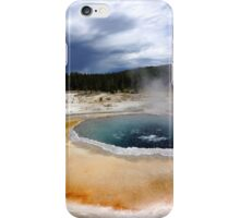 Hot Spring in the Old Faithful Area iPhone Case/Skin