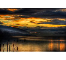 Golden Hour on Loch Ness Photographic Print