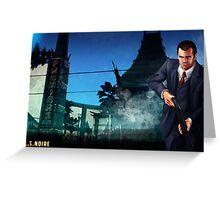 L.S.Noire Michael Greeting Card