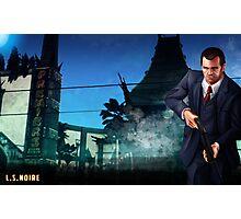 L.S.Noire Michael Photographic Print