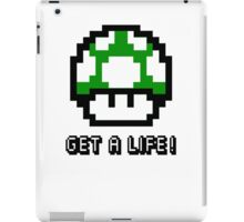 Mario Mushroom Get A Life iPad Case/Skin
