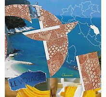 Collage Italy-Italie Inspiration Trip-Voyage by CHAUSSÉ Photographic Print