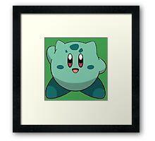Bulbasaur | Kirby Edition Framed Print