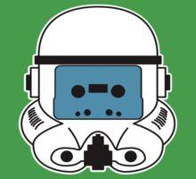 Cassette Trooper - Blue Kids Clothes