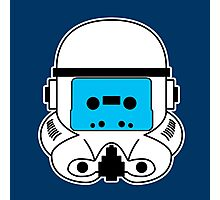 Cassette Trooper - Blue Photographic Print