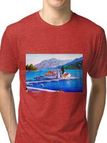 Tranquil Island Tri-blend T-Shirt