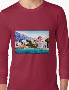 Tranquil harbour Long Sleeve T-Shirt
