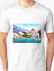 Tranquil harbour Unisex T-Shirt