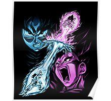 Goku and Vegeta Poster