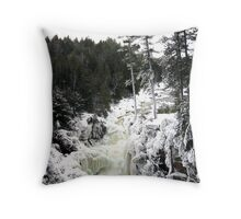 Icy dream-land Throw Pillow