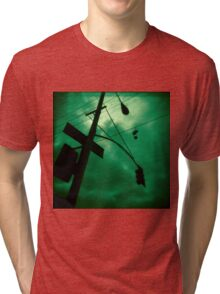 Shoes and Wires Tri-blend T-Shirt