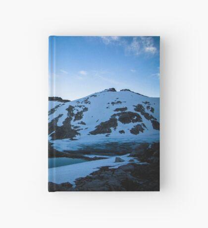Tranquil Lake Sunset Hardcover Journal