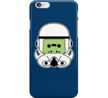 Cassette Trooper - Green iPhone Case/Skin