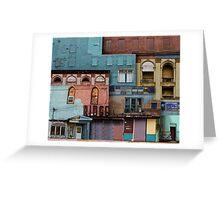 verdigris Greeting Card