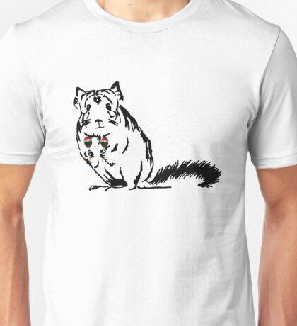 Chinchilla Party print Unisex T-Shirt