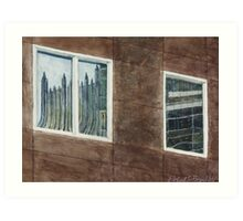 PNC and PPG reflected Art Print
