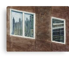 PNC and PPG reflected Canvas Print