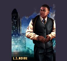 L.S.Noire Franklin Mens V-Neck T-Shirt