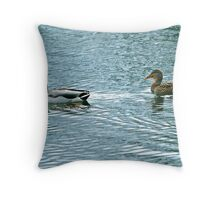 Puddles and Paddles Throw Pillow
