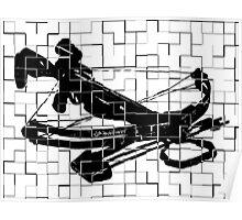 Tiled Design - Crossbow Poster