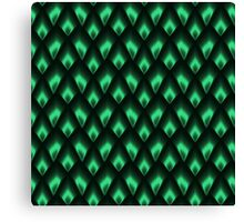 Emerald Dragon Canvas Print