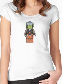 Hera Syndulla Minifigure Women's Fitted Scoop T-Shirt