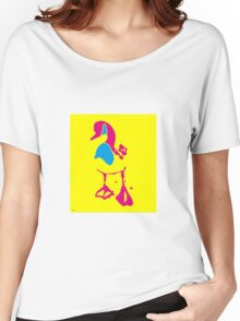 A COLOURFUL WADDLE Women's Relaxed Fit T-Shirt