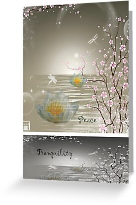 Peace & Tranquility by Vanessa Barklay