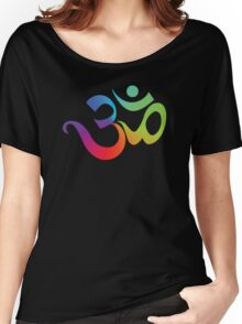 Yoga Om Symbol T-Shirt Women's Relaxed Fit T-Shirt
