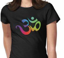 Yoga Om Symbol T-Shirt Womens Fitted T-Shirt