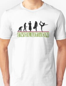 "Yoga ""Evolution"" T-Shirt Unisex T-Shirt"