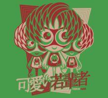 Mod Mascot Stencil Baby Tee