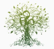 Meditate, Meditation, Spiritual Tree Yoga T-Shirt  Baby Tee
