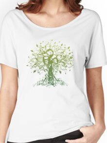 Meditate, Meditation, Spiritual Tree Yoga T-Shirt  Women's Relaxed Fit T-Shirt
