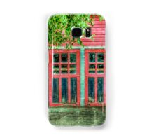 Red Garage Samsung Galaxy Case/Skin