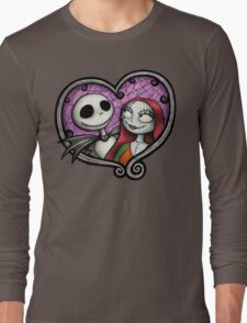 Jack and Sally Long Sleeve T-Shirt