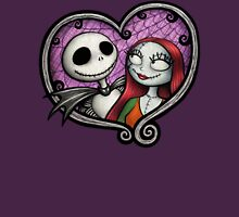 Jack and Sally Womens Fitted T-Shirt