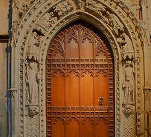 Rochester Cathedral - Hamo's Door by Dave Godden