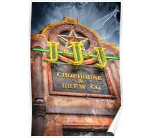 Triple J Chophouse & Brew Company Poster