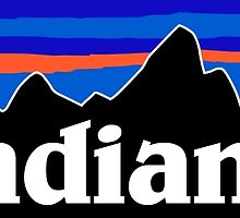 Patagonia Indiana Logo by laurenfeltner