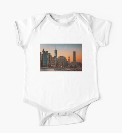 Moon over Manhattan One Piece - Short Sleeve