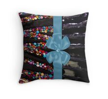 ribbon candies Throw Pillow