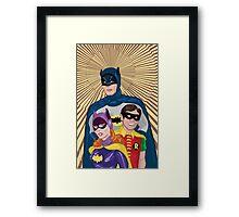 The Terrific Trio Framed Print