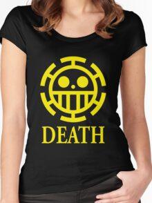 Trafalgar Law Pirate Heart Women's Fitted Scoop T-Shirt