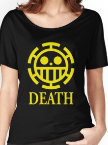 Trafalgar Law Pirate Heart Women's Relaxed Fit T-Shirt