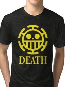 Trafalgar Law Pirate Heart Tri-blend T-Shirt