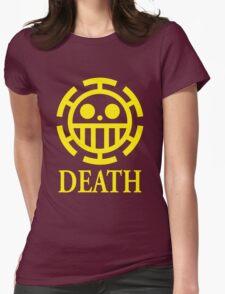 Trafalgar Law Pirate Heart Womens Fitted T-Shirt