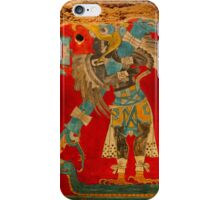 Ancient Mayan Image at the Anthropological Museum in Mexico City iPhone Case/Skin